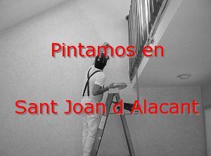 Pintor Elche Sant Joan d Alacant